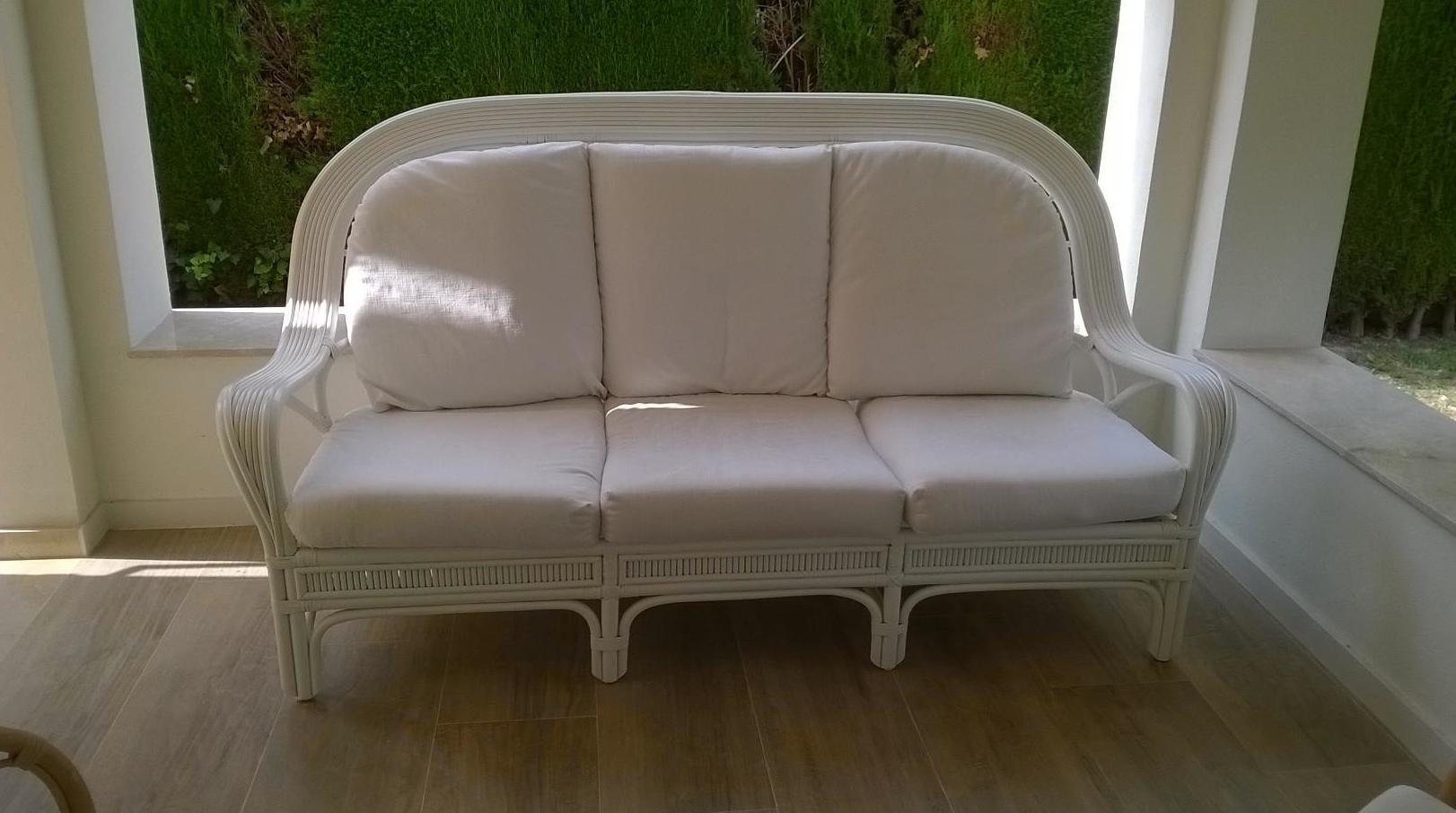 sillón lacado
