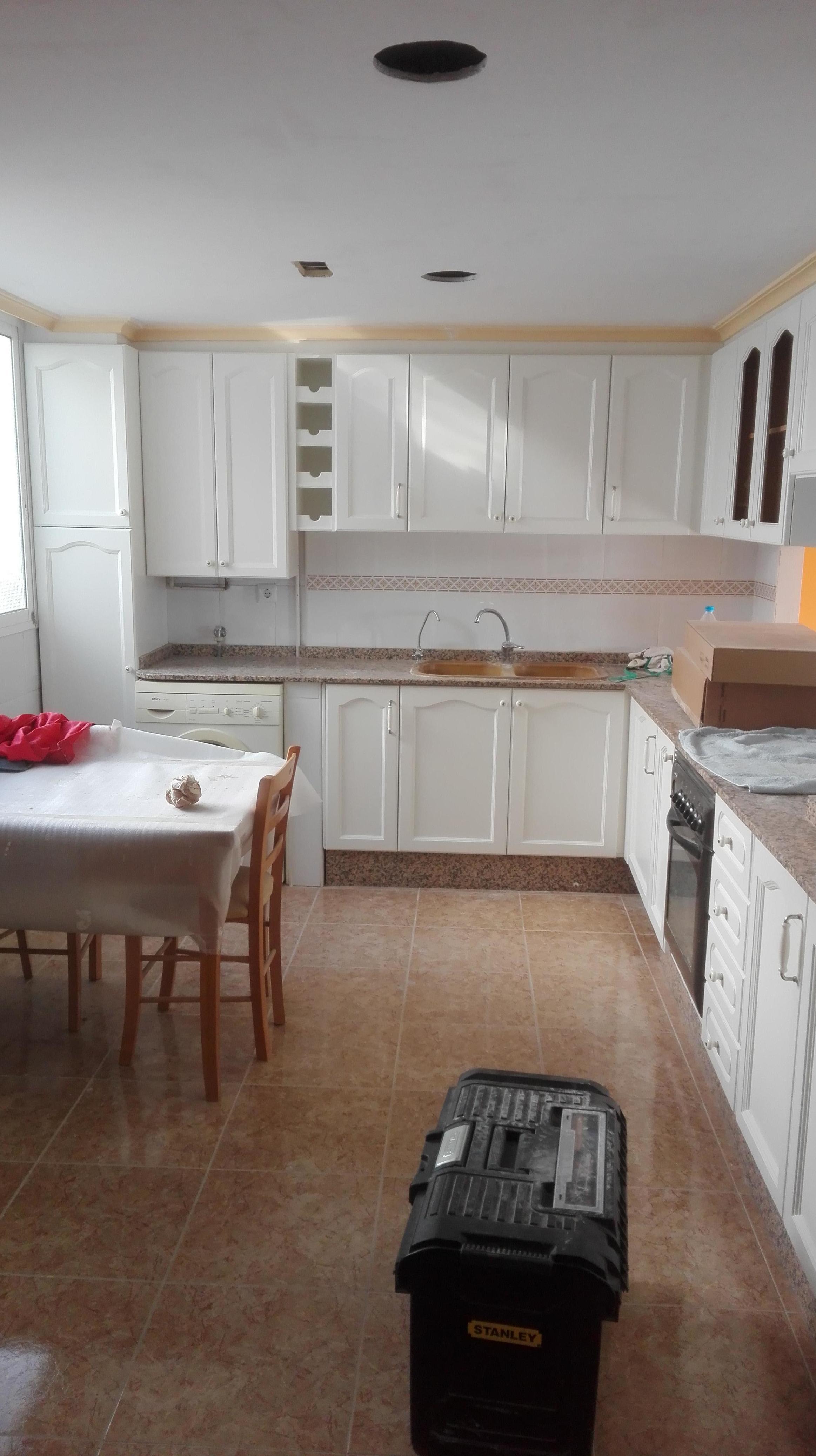 cocina lacada ral-9010