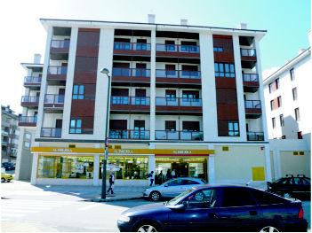 Fachada Residencial Barcarola, Luanco