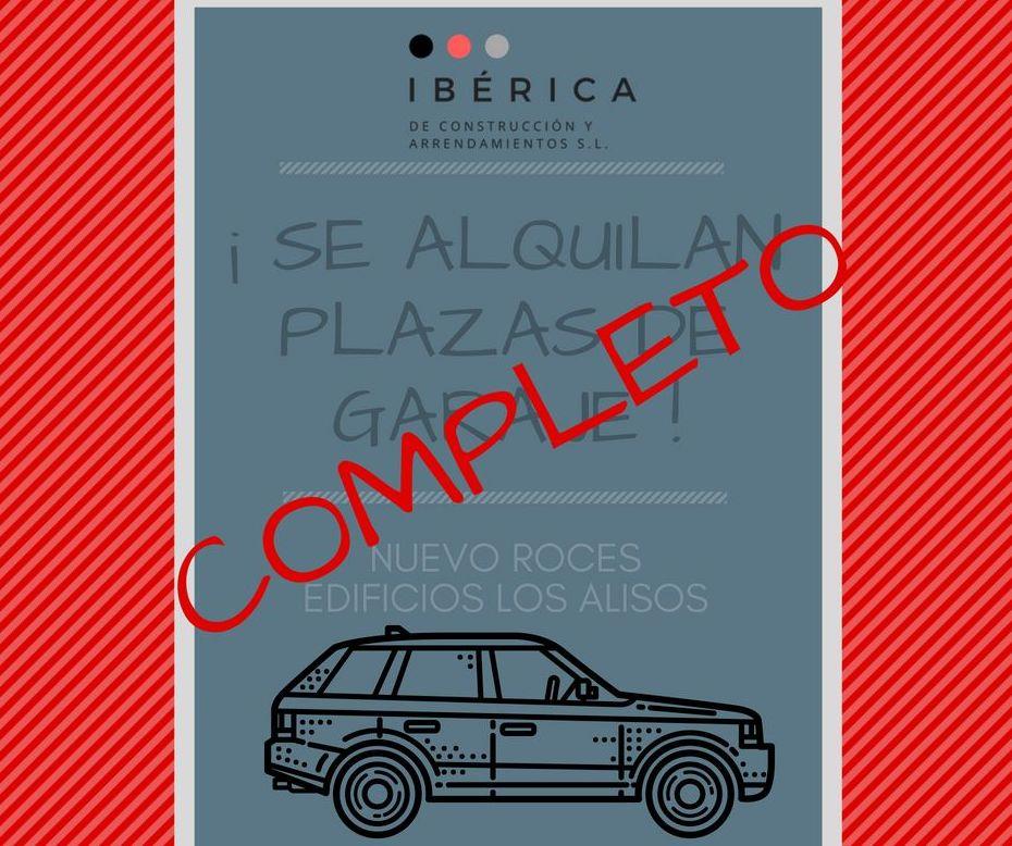 Plazas de garaje- Gijón: Productos y servicios de Construcciones Cardín y Luengo