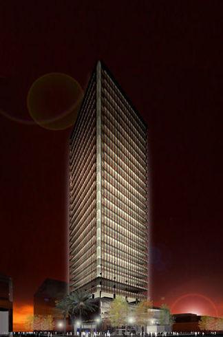 Maqueta virtual en 3D de hoteles