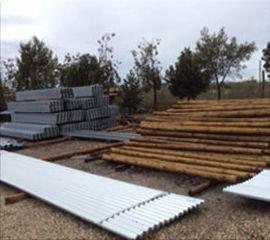 Materiales para la construcción de vallados en Almería