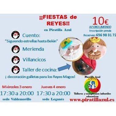 FIESTAS DE REYES: TALLER DE COCINA.