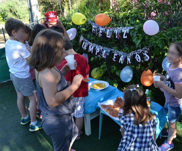 Celebración de cumpleaños en Valdemorillo