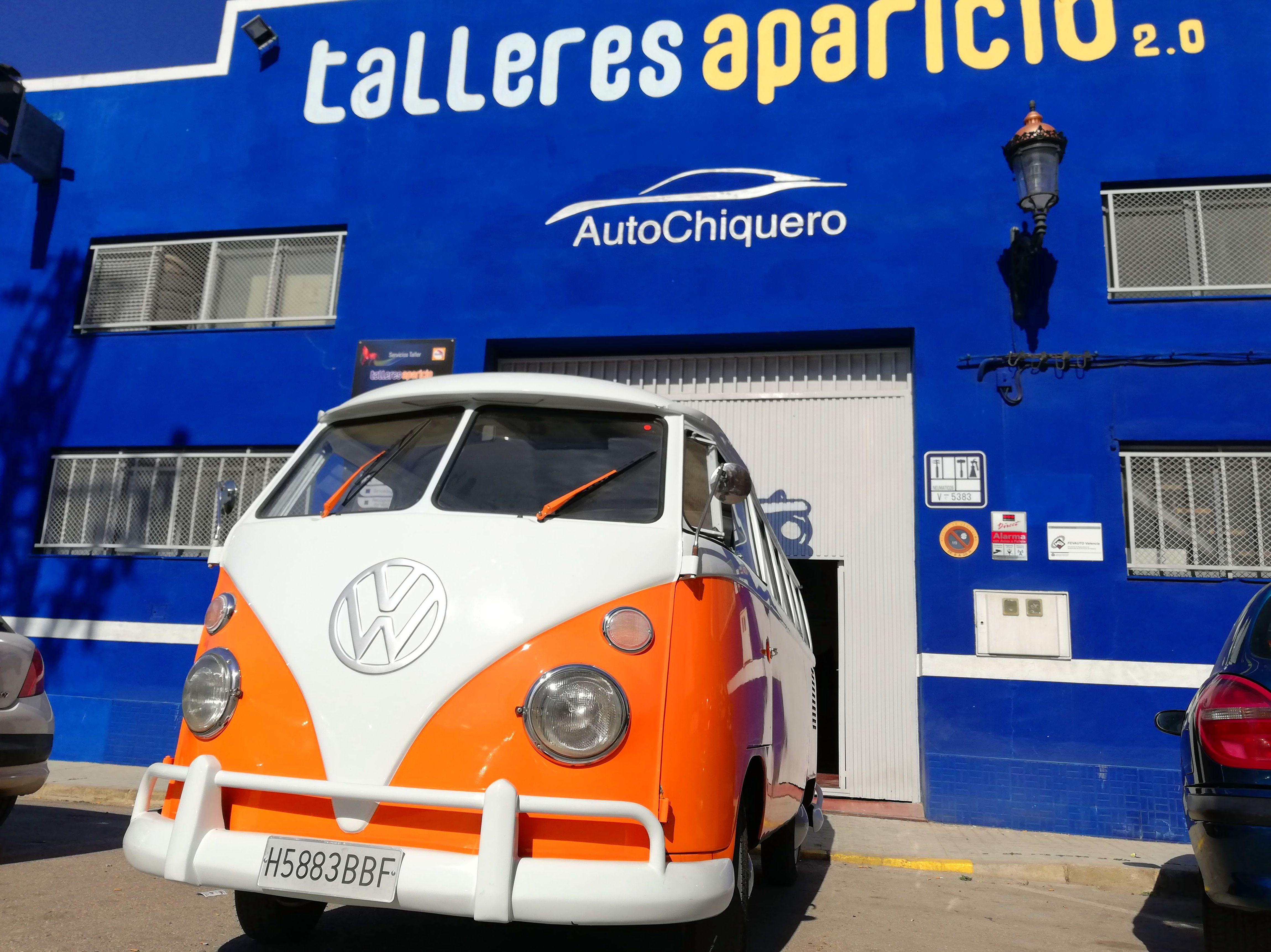 Foto 4 de Talleres de chapa y pintura en Valencia | Talleres Aparicio Autochiquero