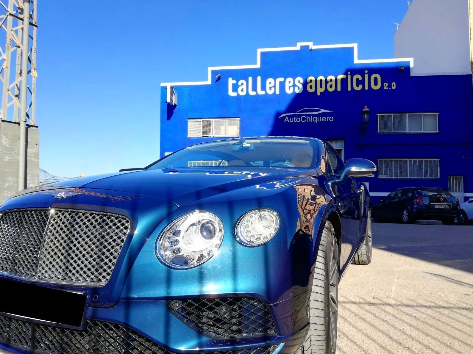 Foto 13 de Talleres de chapa y pintura en Valencia | Talleres Aparicio Autochiquero