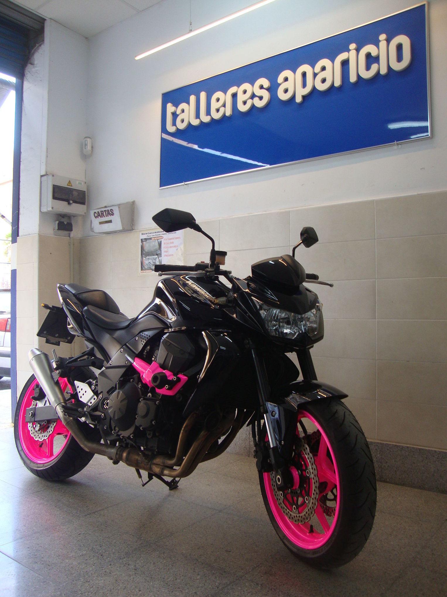 Personalización de motos: CATÁLOGO de Talleres Aparicio Autochiquero