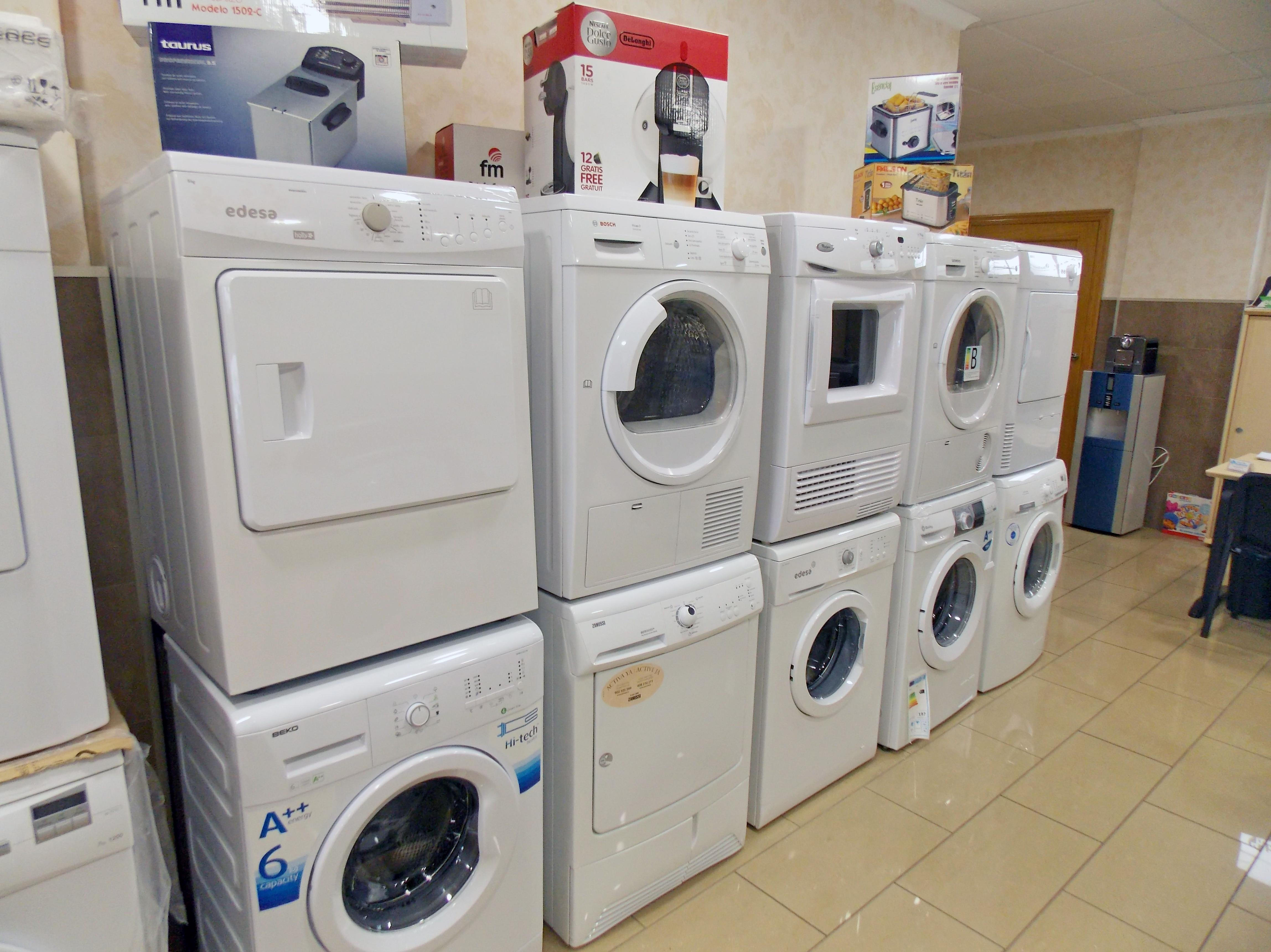 Venta y exposición de electrodomésticos