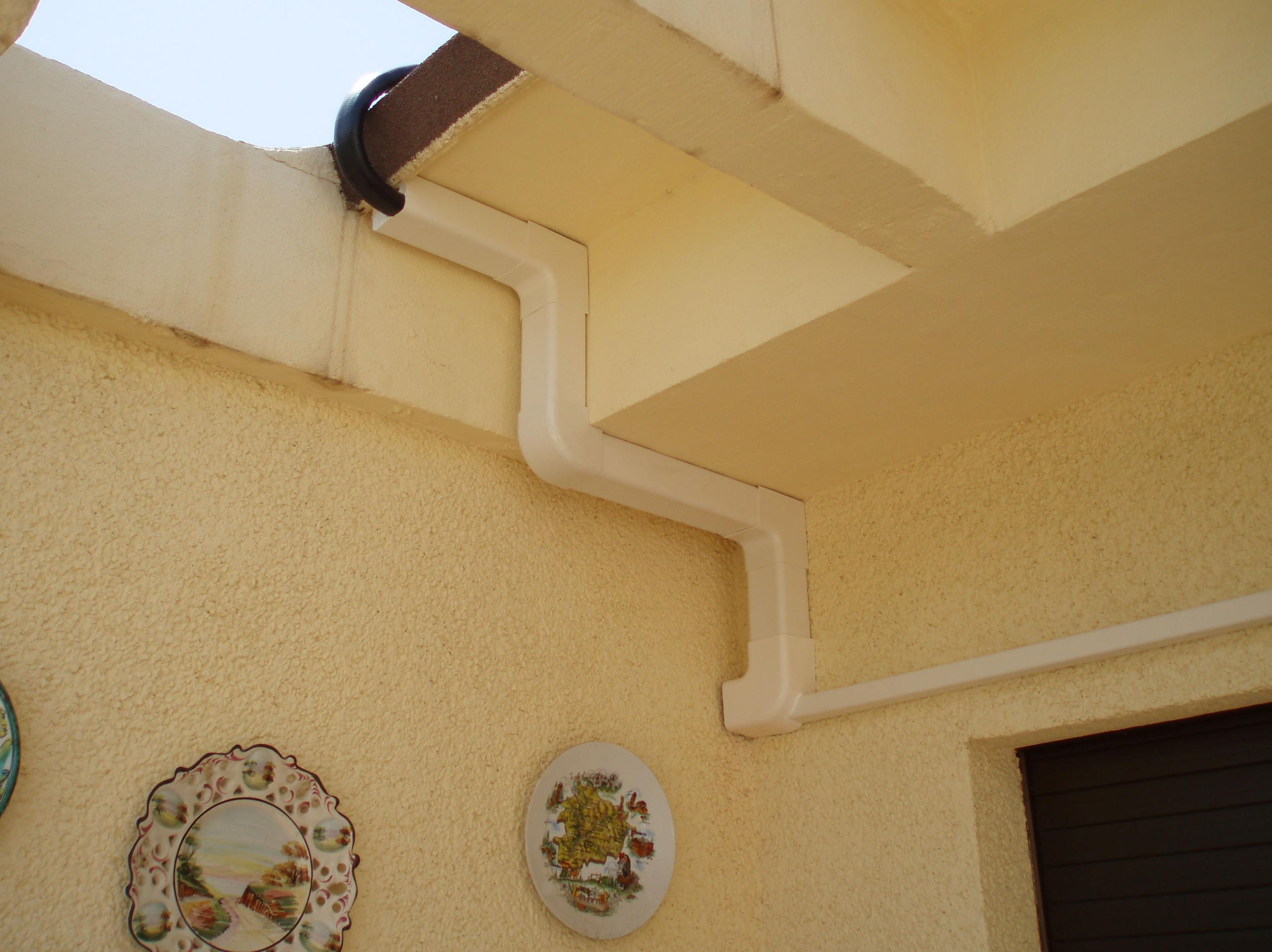 Canalización de conductos de aire acondicionado