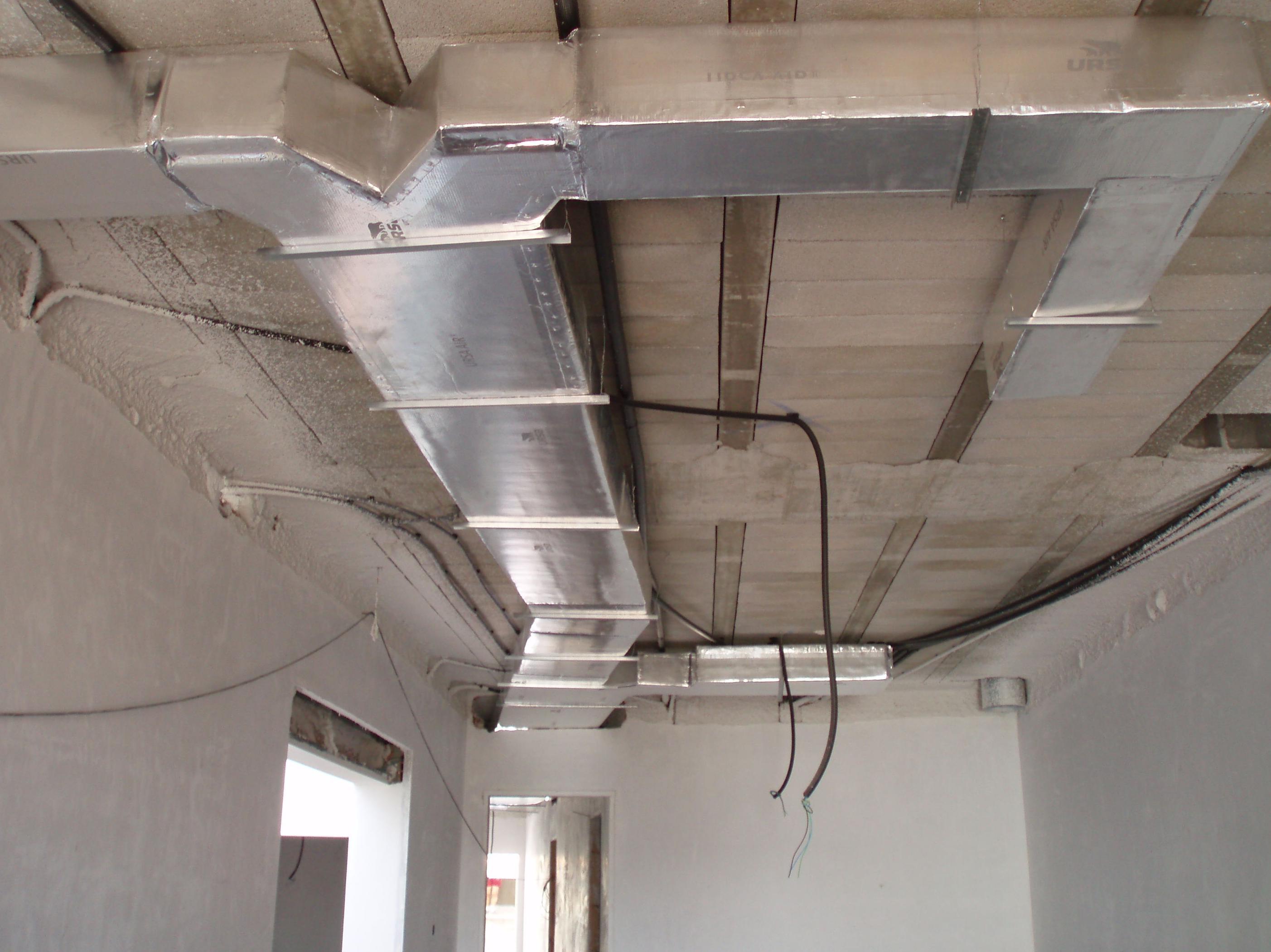 Preinstalaciones de aire acondicionado