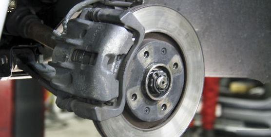 Reparación del disco de frenos