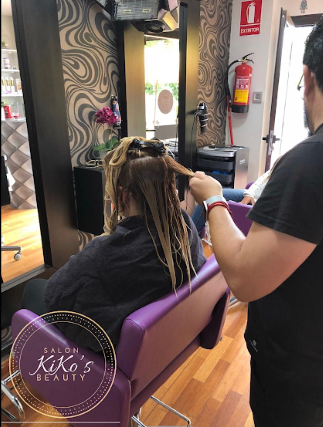 Hair botox treatment in Marbella