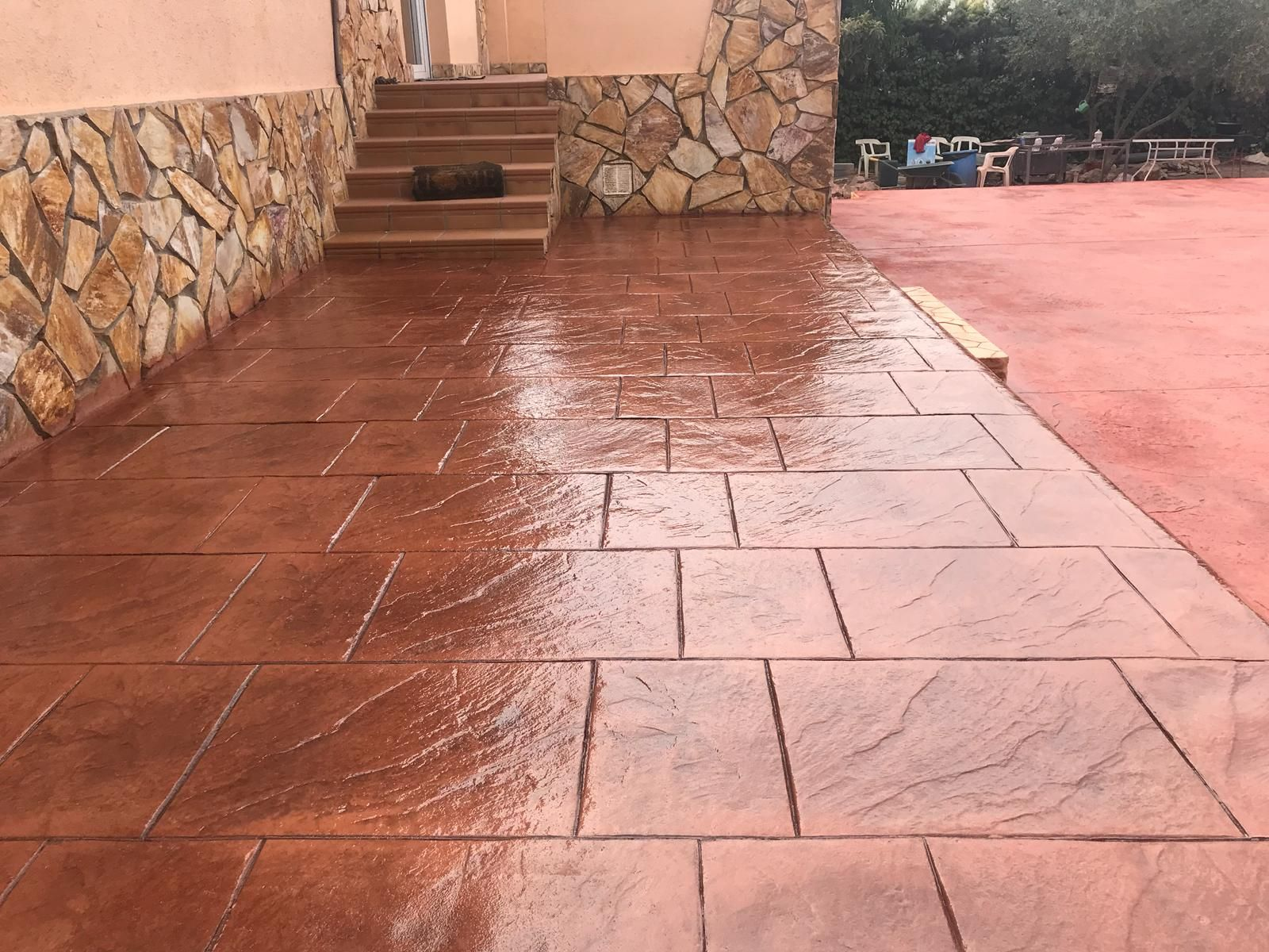 Pavimento impreso en Torrejón de Ardoz