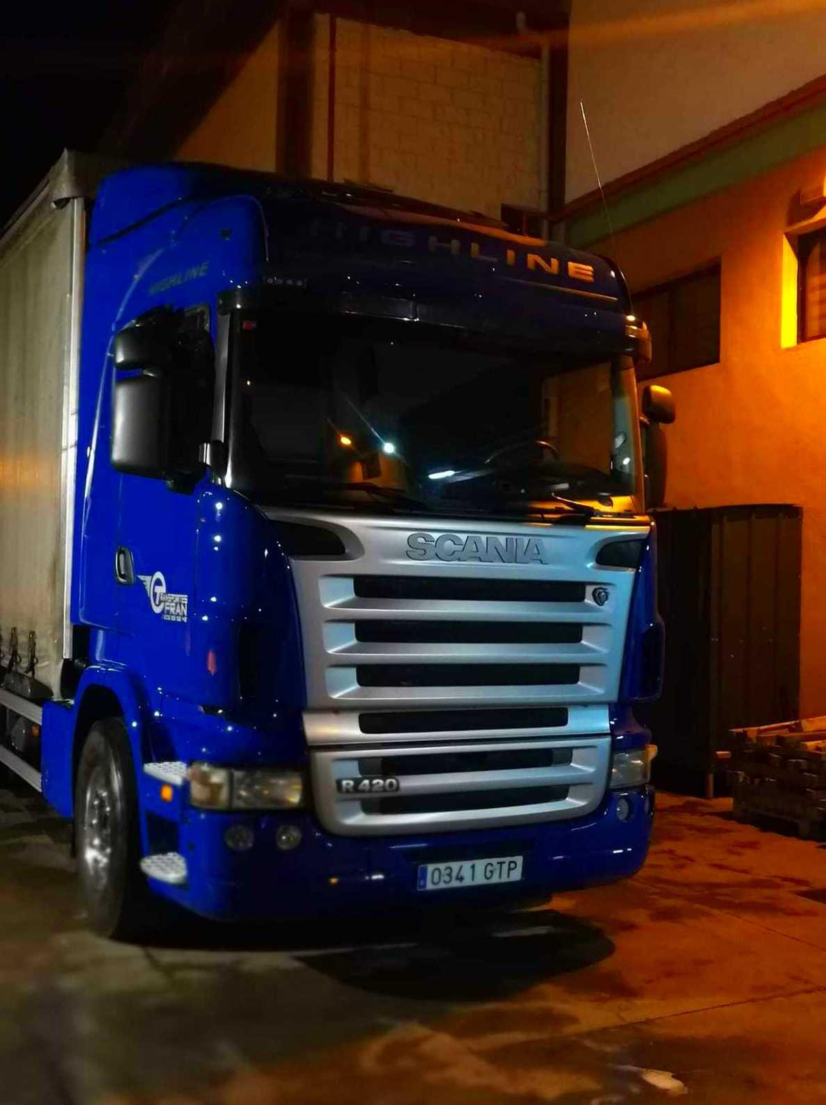 Foto 3 de Transporte de mercancías en    Transportes Fran