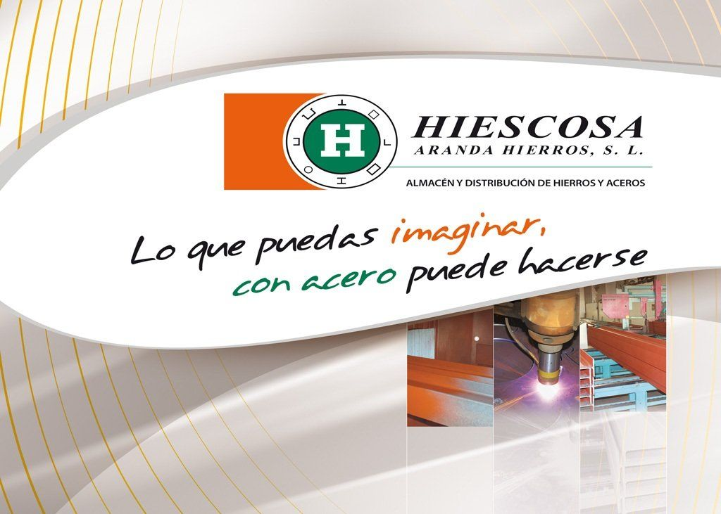 Instalaciones y equipo humano: Productos de Hiescosa Aranda Hierros, S.L.