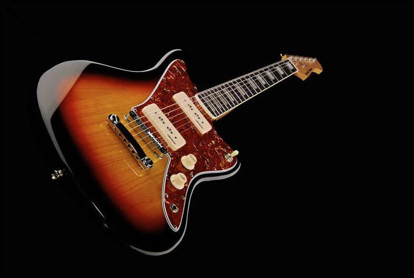 Guitarra eléctrica tipo Jaguar Harley Benton