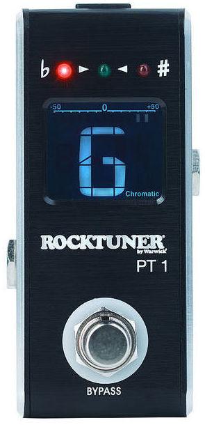 Pedal guitarra/bajo afinador Warwick Rocktuner PT1