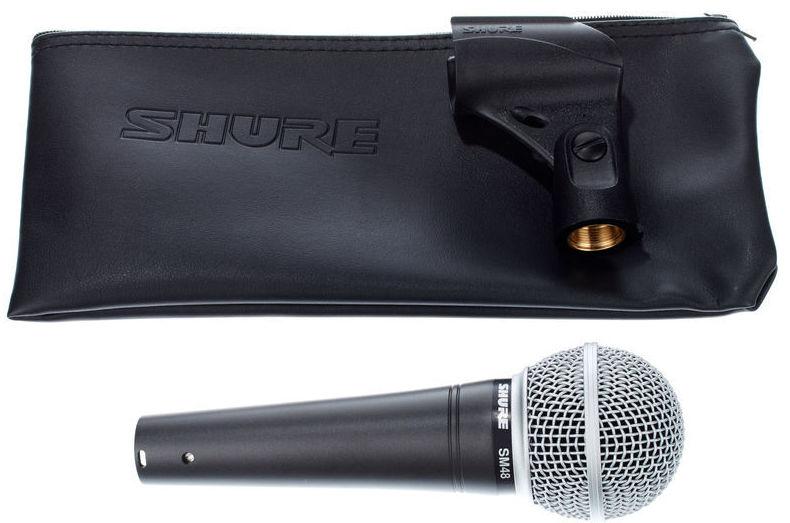 Microfono profesional para voces Shure Sm 48 LC