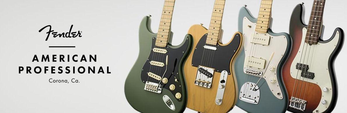 Nuevas Fender American Professional