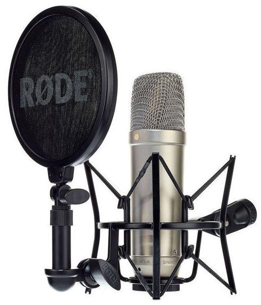 Set microfono de condensador para studio casa Rode NT1-A alta calidad precio economico