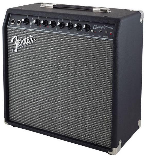 Amplificador guitarra eléctrica Fender Champion 40w