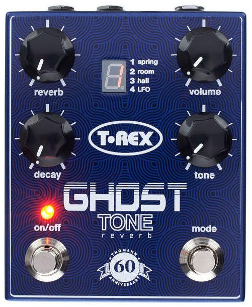 Pedal de Reverb para guitarra T-Rex Ghost Tone