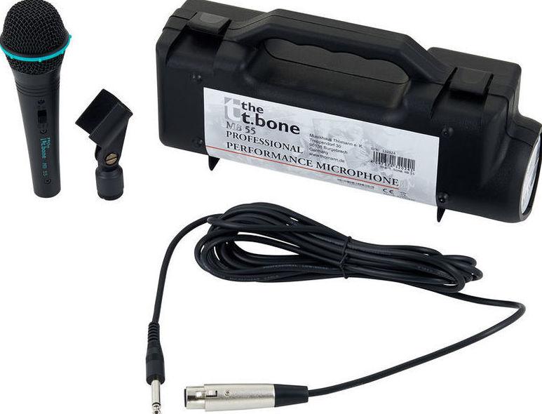 Microfono para voces económico, barato de calidad T.Bone