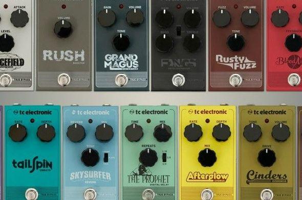 Nuevos pedales de guitarra Tc Electronic