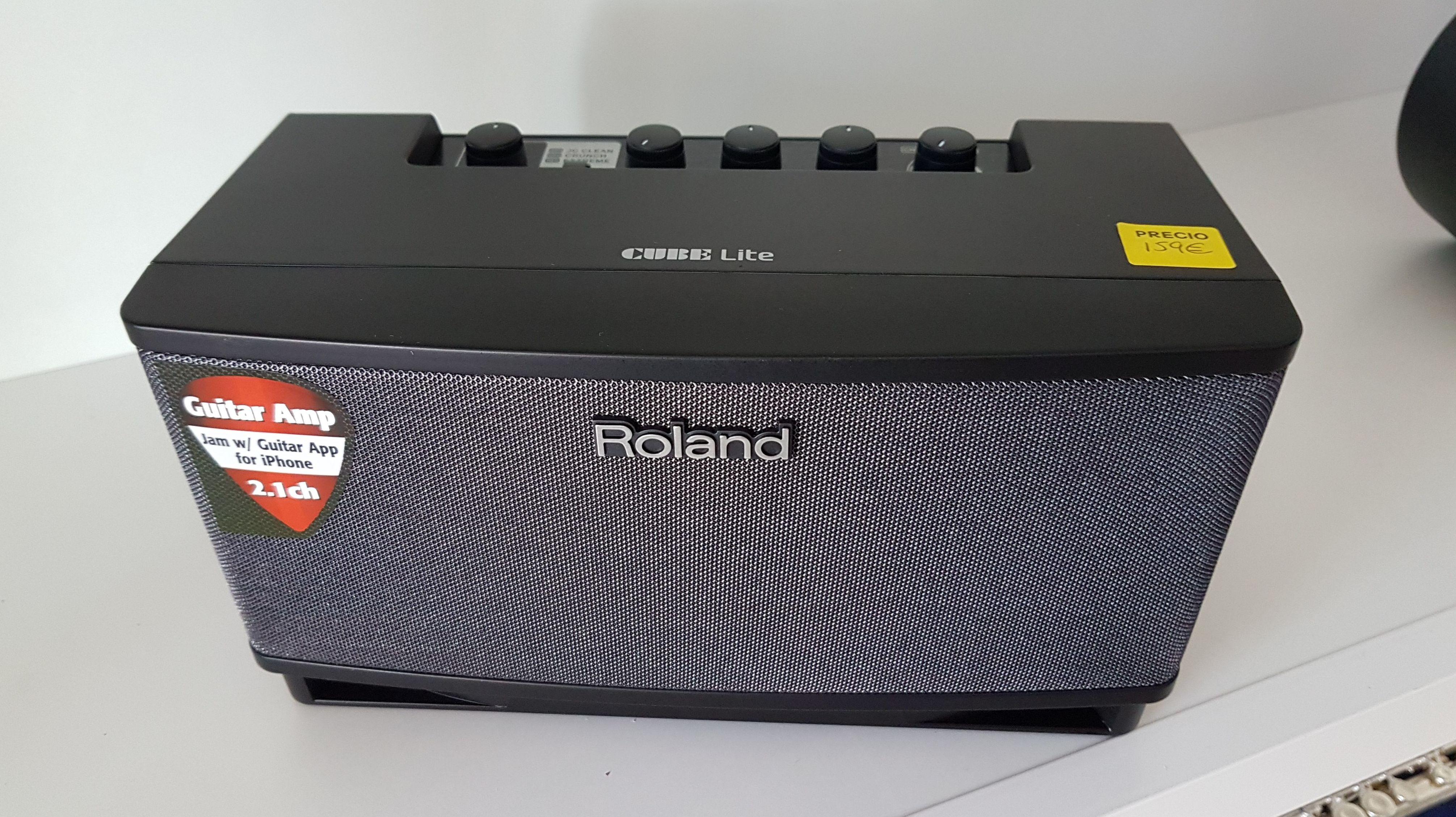 Amplificador de guitarra pequeño Roland Cube Lite