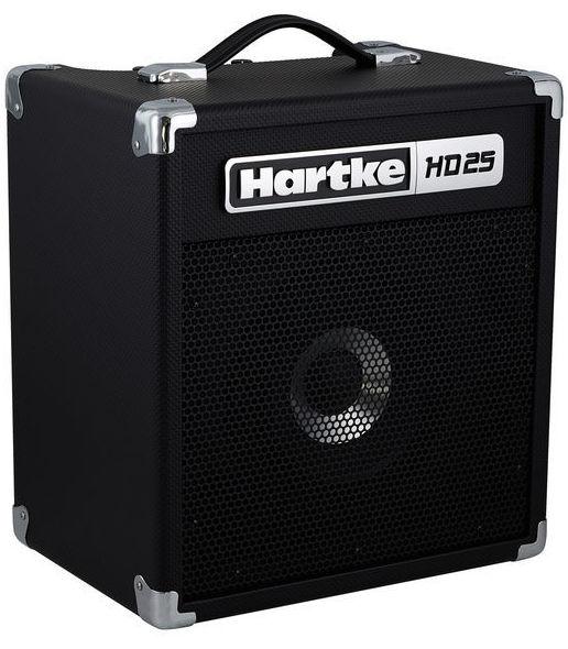 Amplificador pequeño para bajo Combo para bajo Hartke HD25. Decibelios Playa Honda Lanzarote