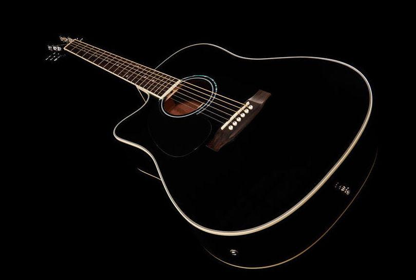 Guitarra electroacústica para zurdo Harley Benton
