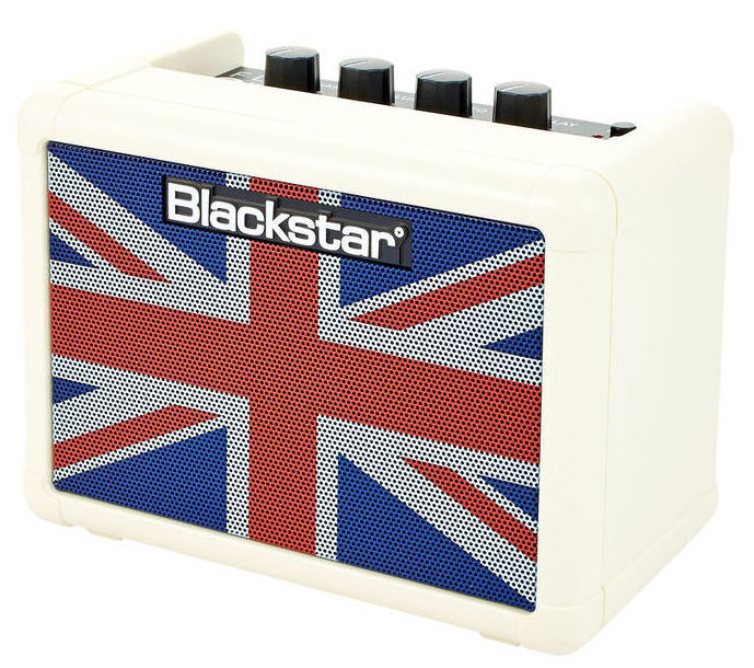 Mini amplificador a pilas Blackstar Fly 3 Delay, distorsion, clean