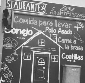 Para llevar: Nuestros platos  de Restaurante La Ksona