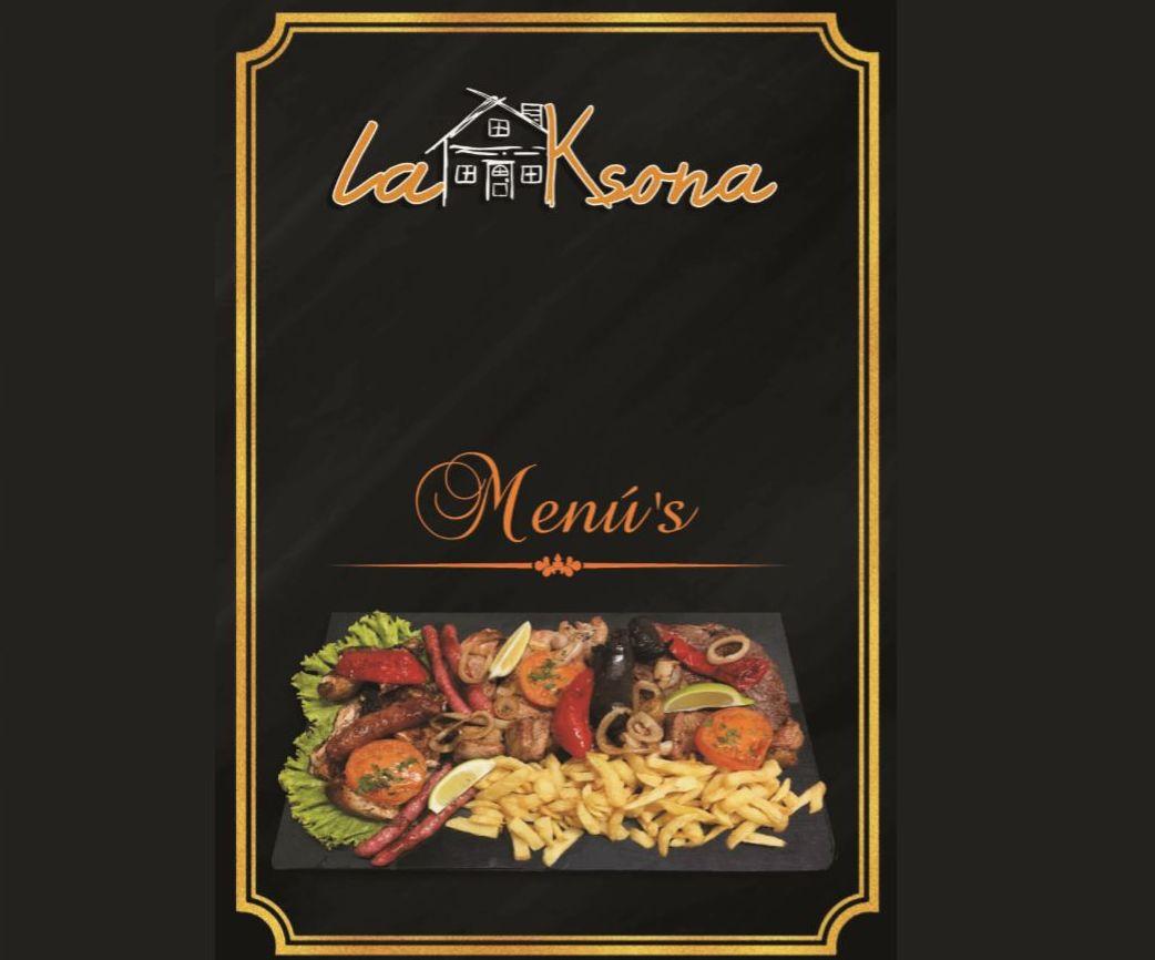 Nuestros menús: Nuestros platos  de Restaurante La Ksona