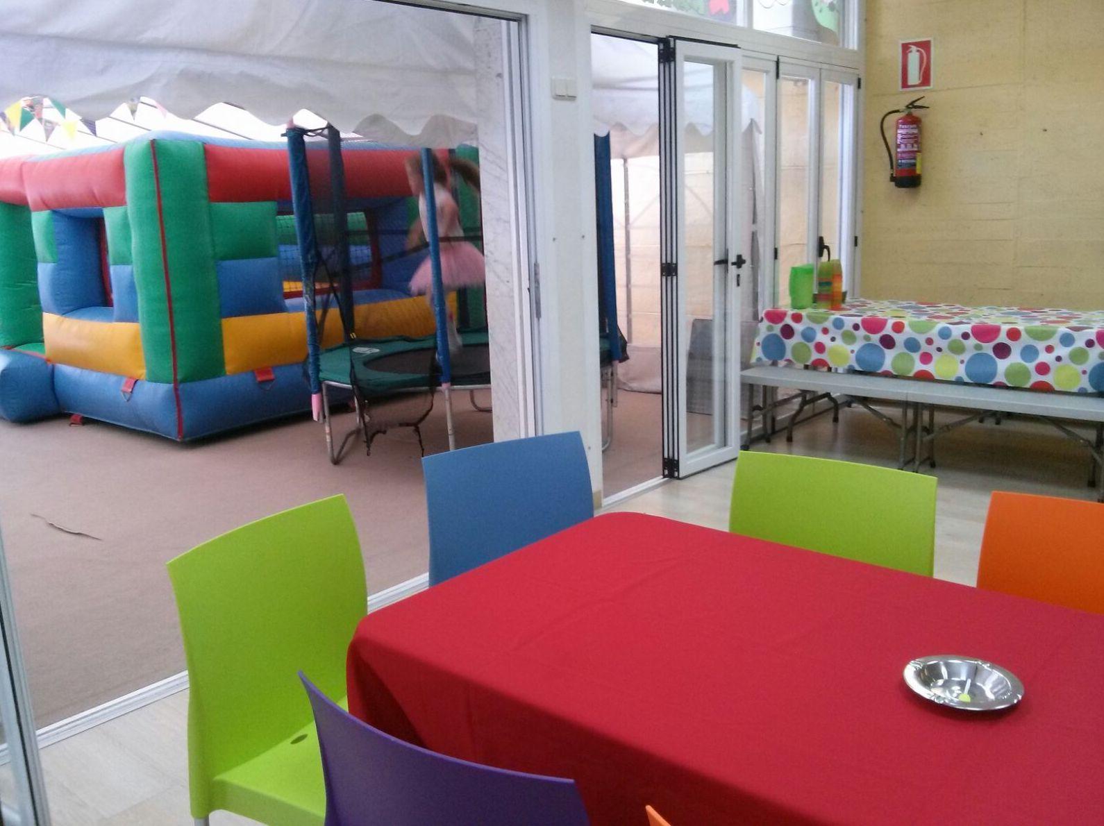 Parque infantil en Torrelodones