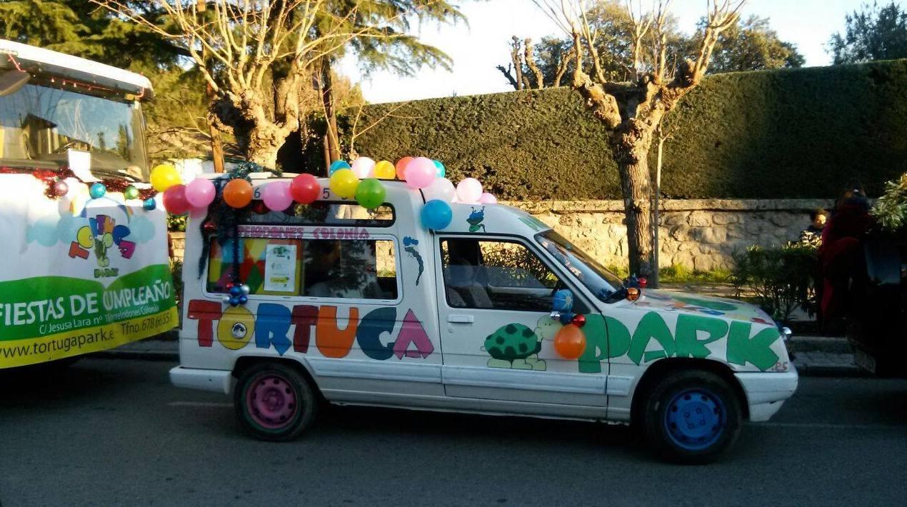 Tortuga Park, organización de fiestas de cumpleaños infantiles en Torrelodones