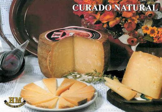 Queso curado natural HM