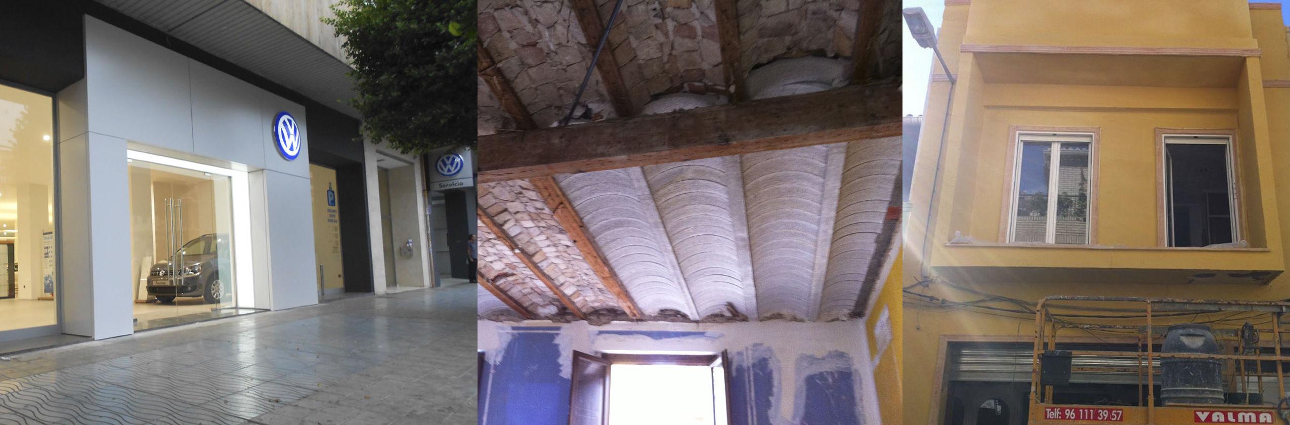 Reformas de edificios en Valencia