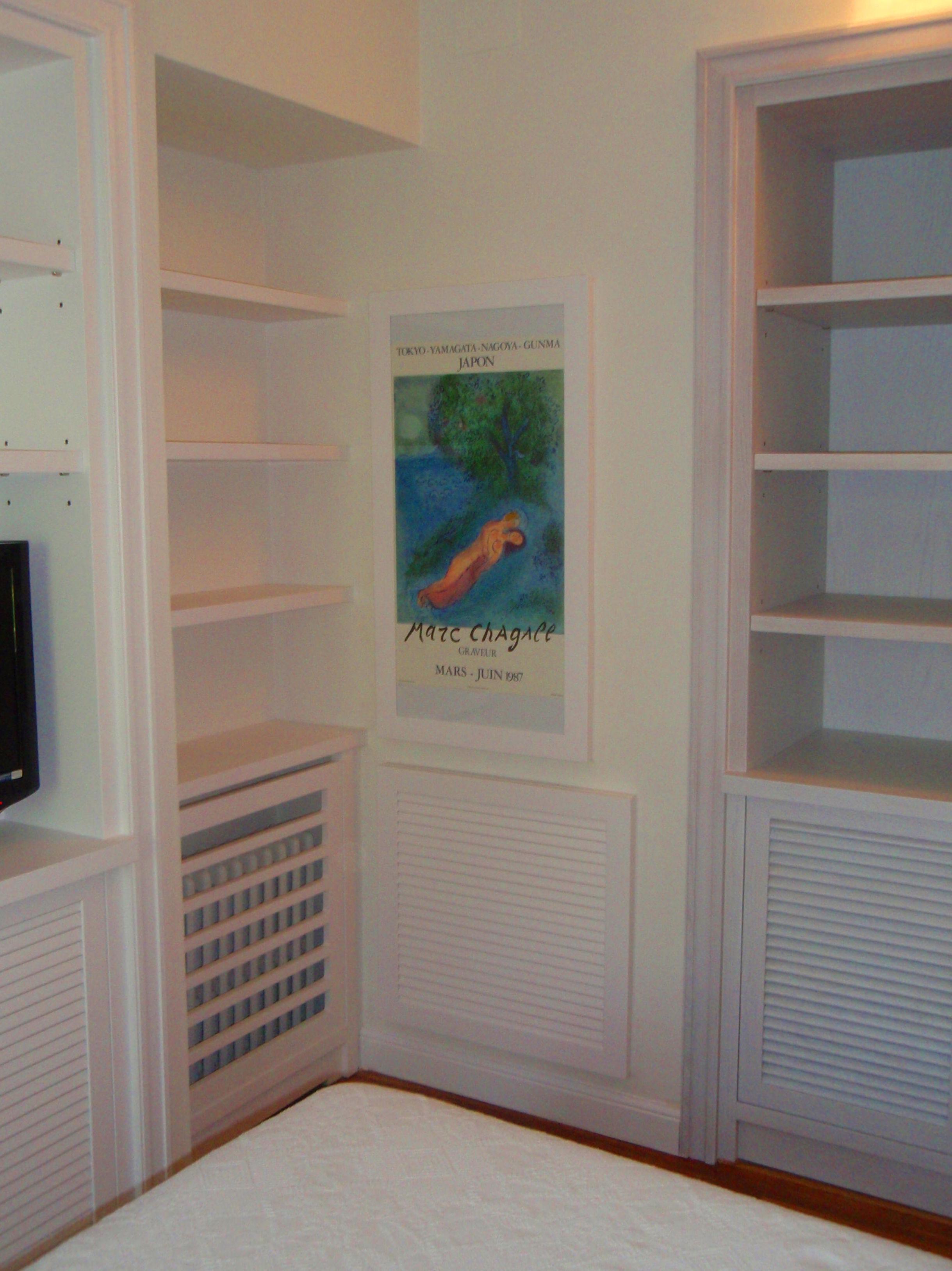 Muebles de madera lacada para dormitorio