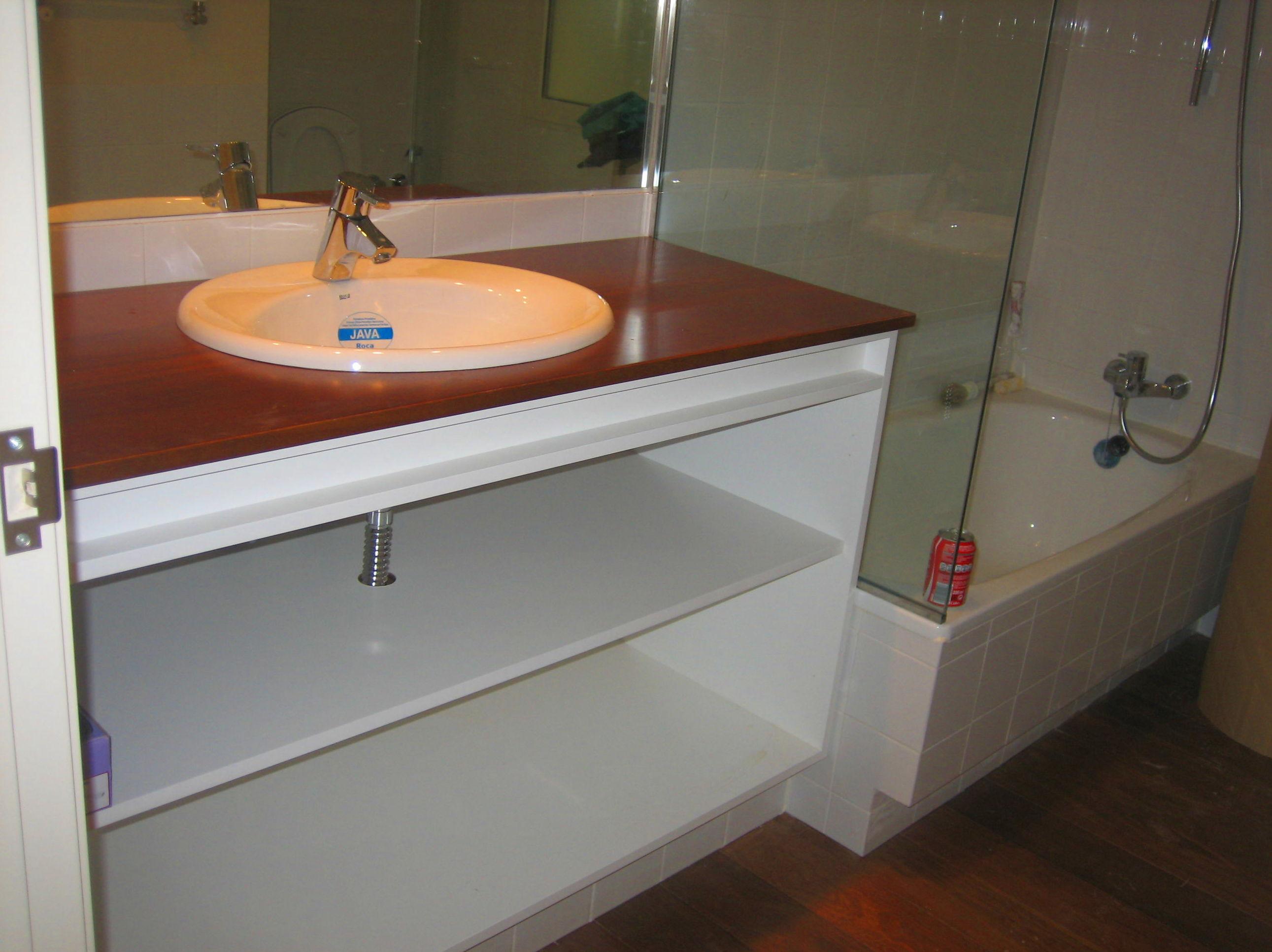 Encimera para mueble de baño