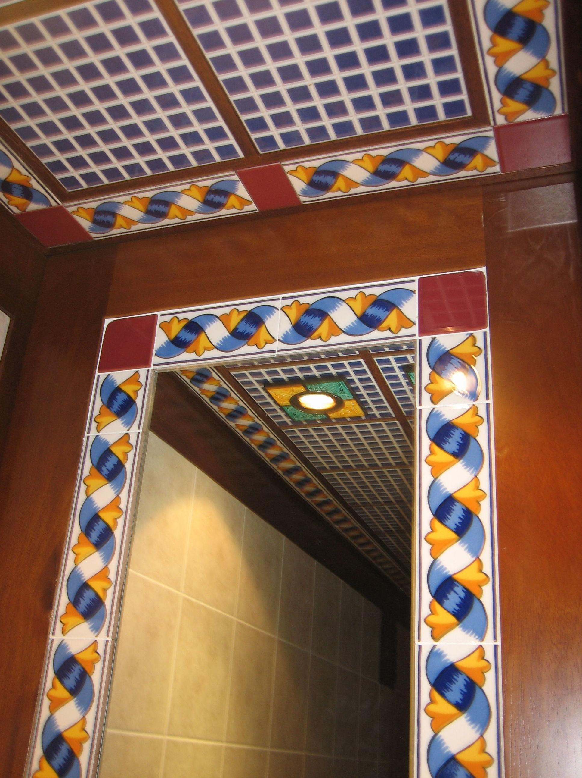 Puertas con azulejos