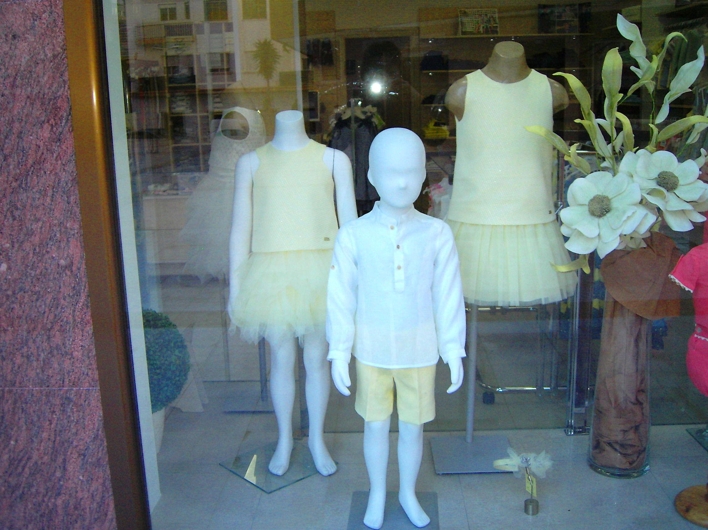 ropa de niños al 50% de verano
