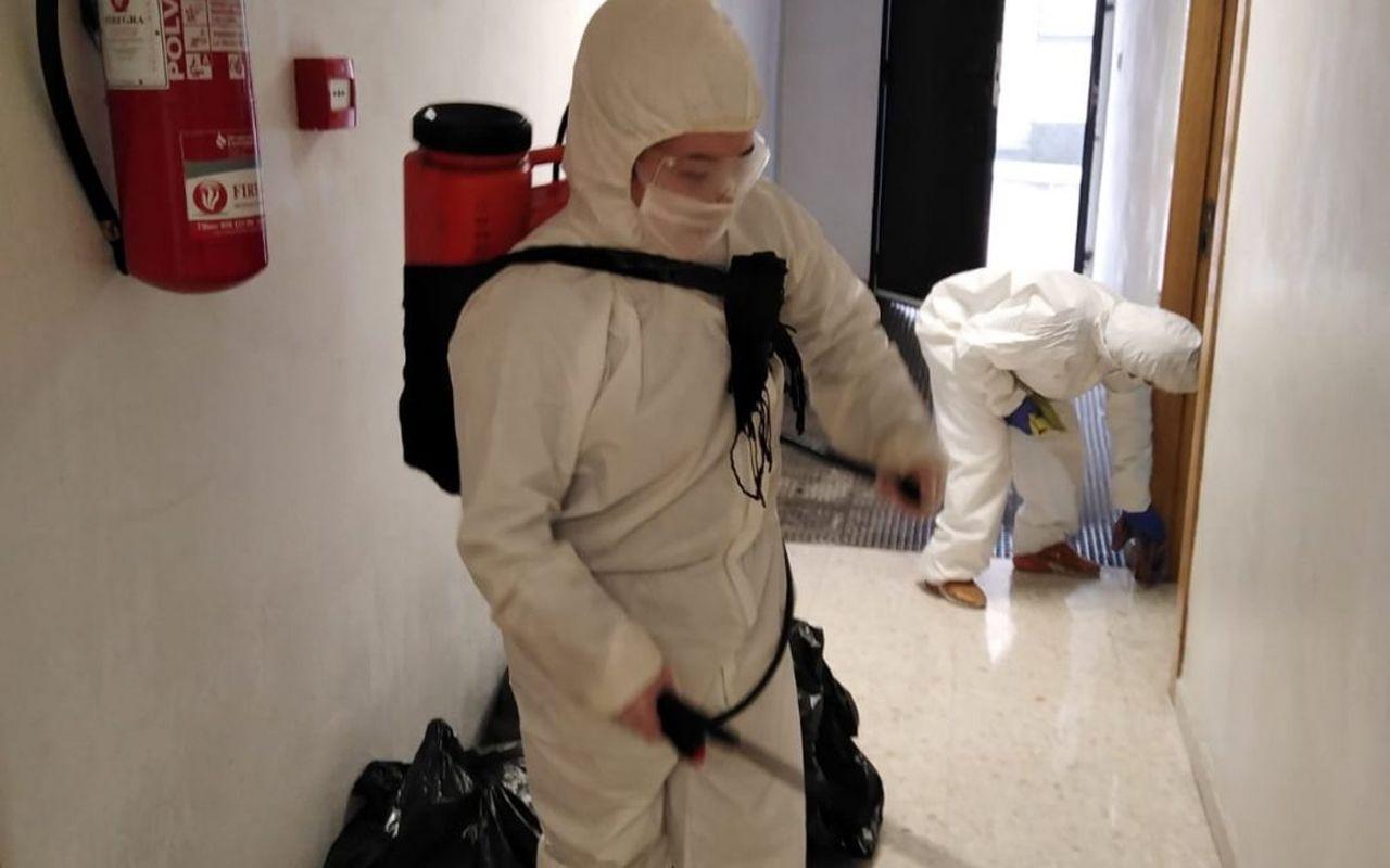 Desinfección COVID19 en Granada