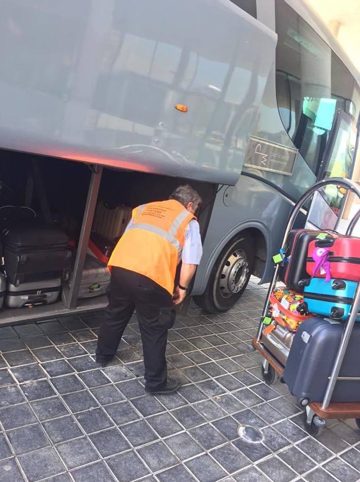Transporte de equipaje de terminales del aeropuerto: Servicios of Transeaba Porters