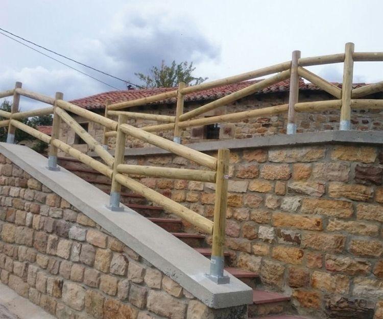 Fabricación de barandillas de madera en Cantabria