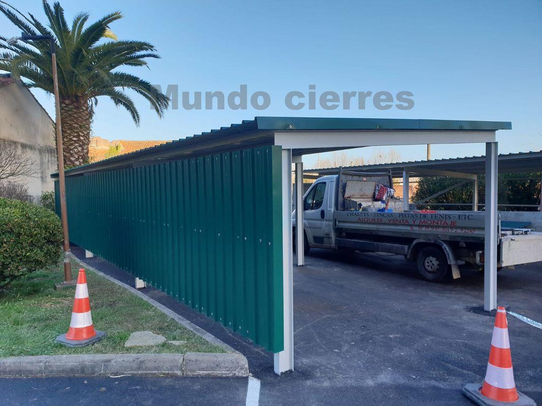 Trabajos de taller de puertas metálicas en Cantabria