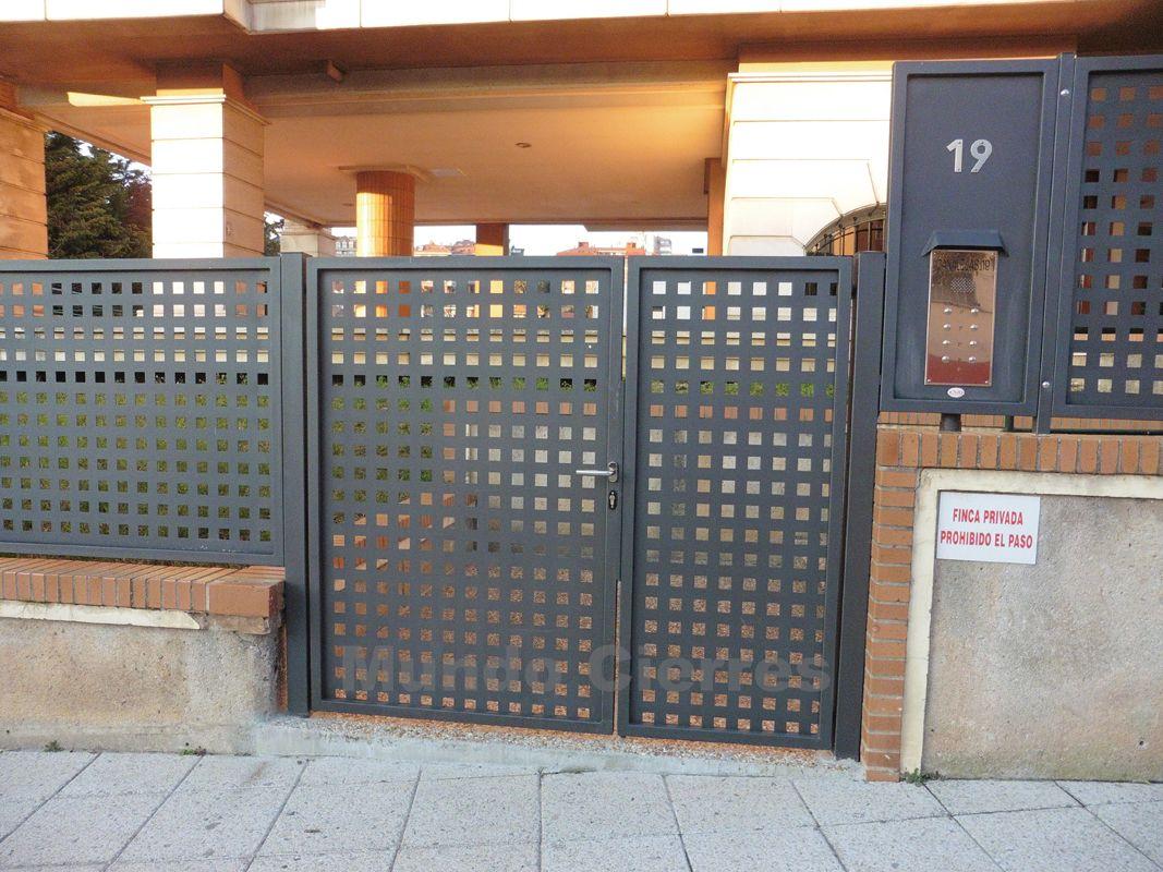 Fabricación e instalación de puertas metálicas en Cantabria