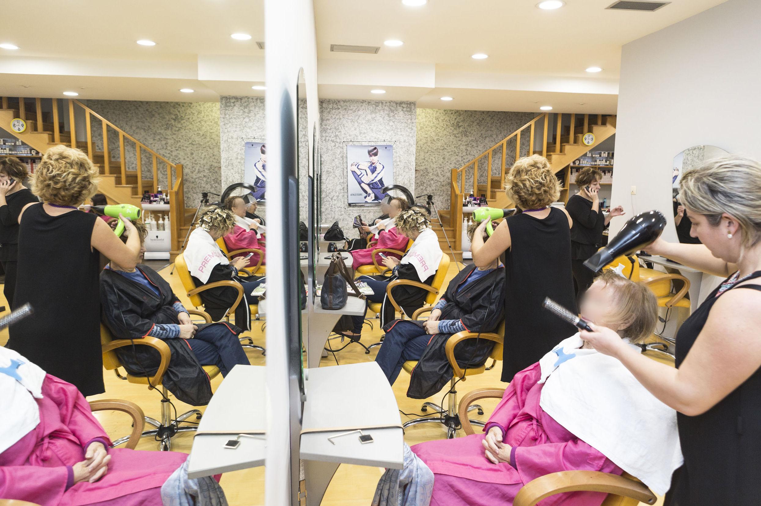 Peluquería de mujeres en Vigo