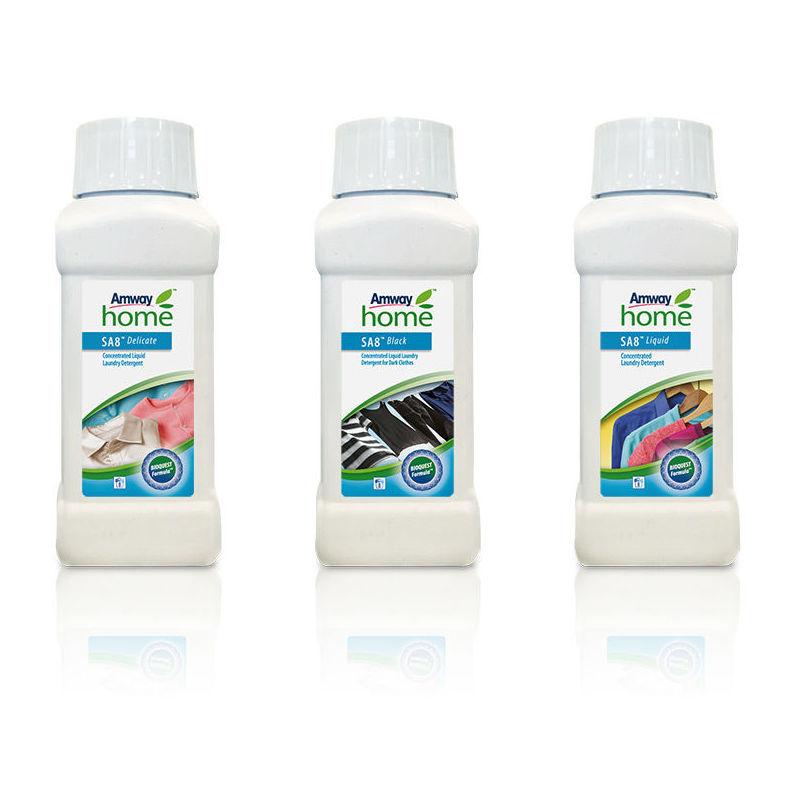 Conjunto de Detergentes líquidos (delicados, oscuro y normal)