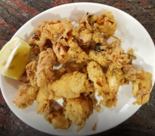 Raciones de pescado rebozado